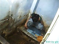 Hidden Camera Captured Indian Girl Peeing In Bathroom