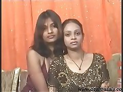 Desi horny indian girl khushi enjoy lesbian sex with girl friend