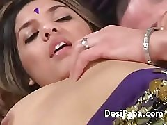 Hot indian pussy taking big cock inside
