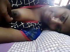 Swathi naidu licking her big tits - indianhiddencams.com